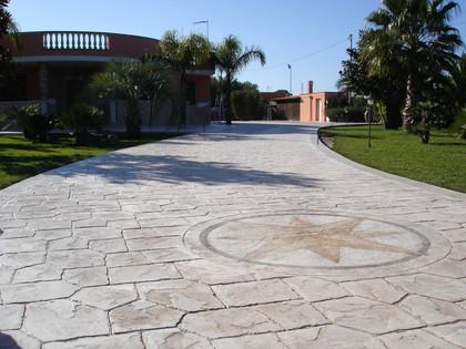 Calcestruzzo Stampato Per Esterni : Petito pavimentazioni a veglie u2013 pavimenti stampati